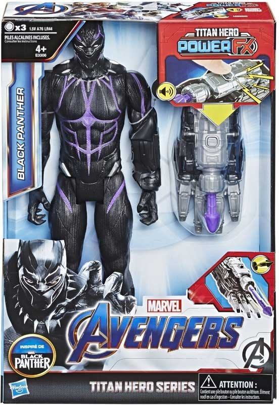 Wholesalers of Avengers Titan Hero Power Fx Black Panther toys