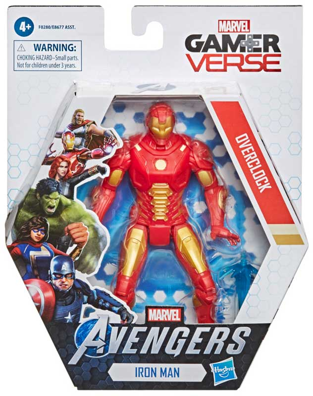 Wholesalers of Avengers Gamer Verse Iron Man Overclock toys