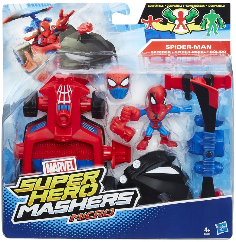 Wholesalers of Avengers Hero Mashers - Micro Figure And Vehicle Ast toys