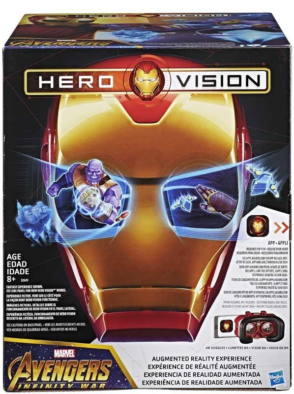 Wholesalers of Avengers Hero Vision Iron Man Ar Mask toys