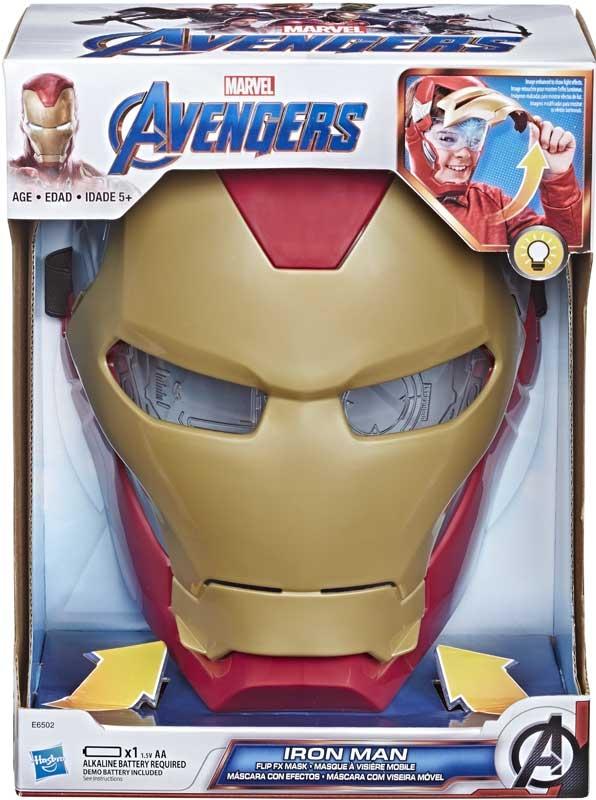 Wholesalers of Avengers Iron Man Flip Fx Mask toys