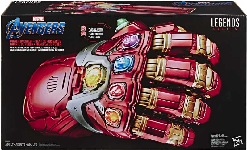 Wholesalers of Avengers Legends Power Gauntlet toys