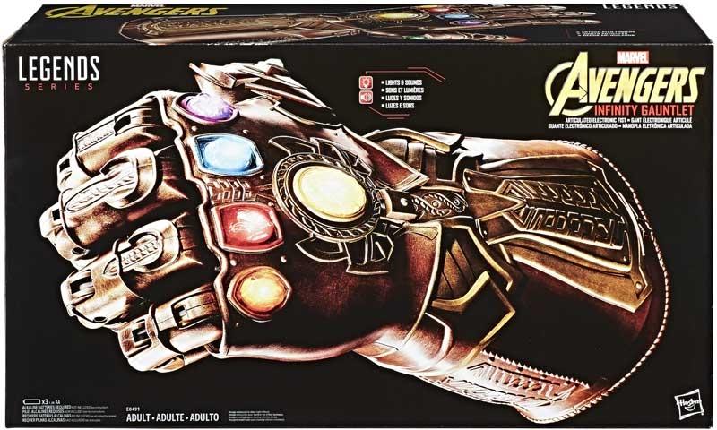 Wholesalers of Avengers Legends Gear Infinity Gauntlet toys