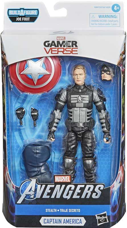 Wholesalers of Avengers Legends Video Game Captain America Stealth toys