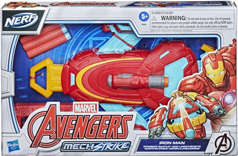 Wholesalers of Avengers Mech Strike Iron Man Strikeshot Gauntlet toys