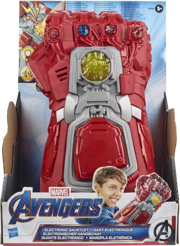 Wholesalers of Avengers Red Electronic Gauntlet toys