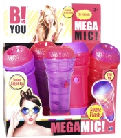 Wholesalers of B You Mega Mic 2 Asst toys image