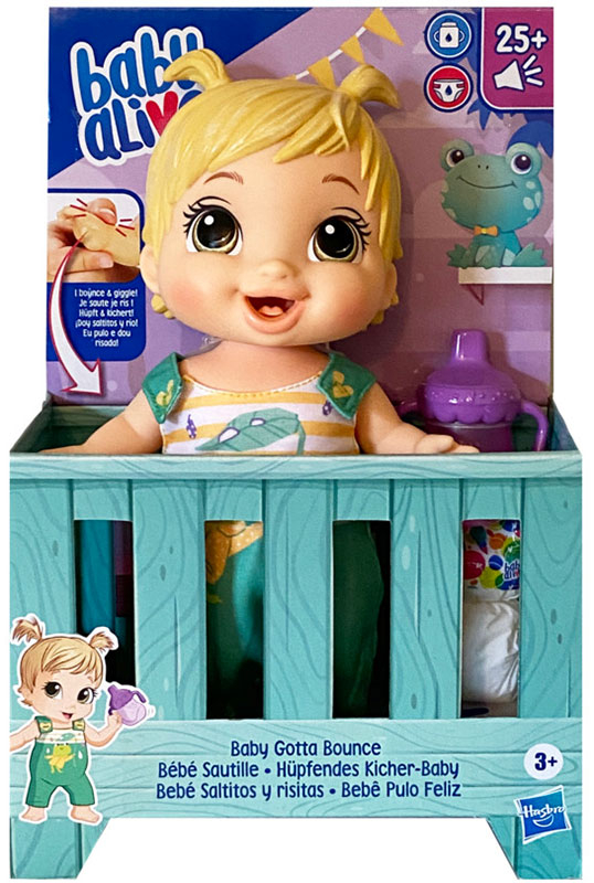 Wholesalers of Baby Alive Baby Gotta Bounce Frog toys