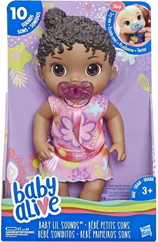 Wholesalers of Baby Alive Baby Lil Sounds Black Hair toys