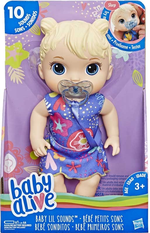 Wholesalers of Baby Alive Baby Lil Sounds Blonde Hair toys