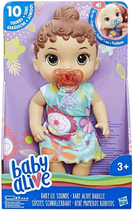 Wholesalers of Baby Alive Baby Lil Sounds Brown Hair toys