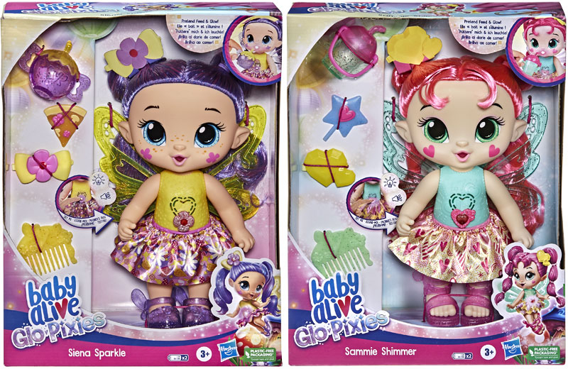 Wholesalers of Baby Alive Glo Pixies Asst toys