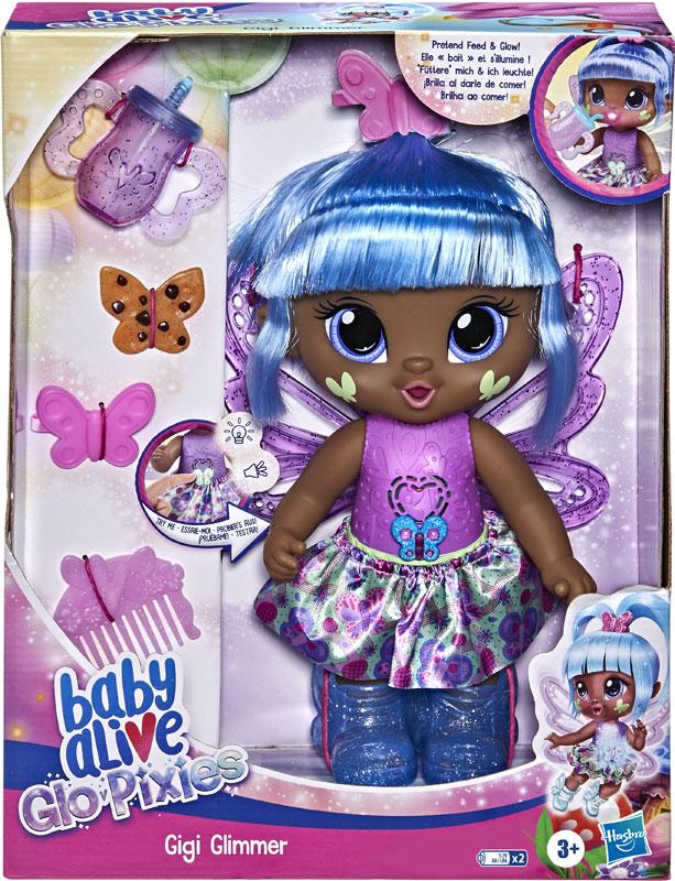 Wholesalers of Baby Alive Glo Pixies Gigi Glimmer toys