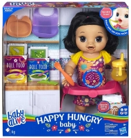 Wholesalers of Baby Alive Happy Hungry Baby Blk Str Hair toys image