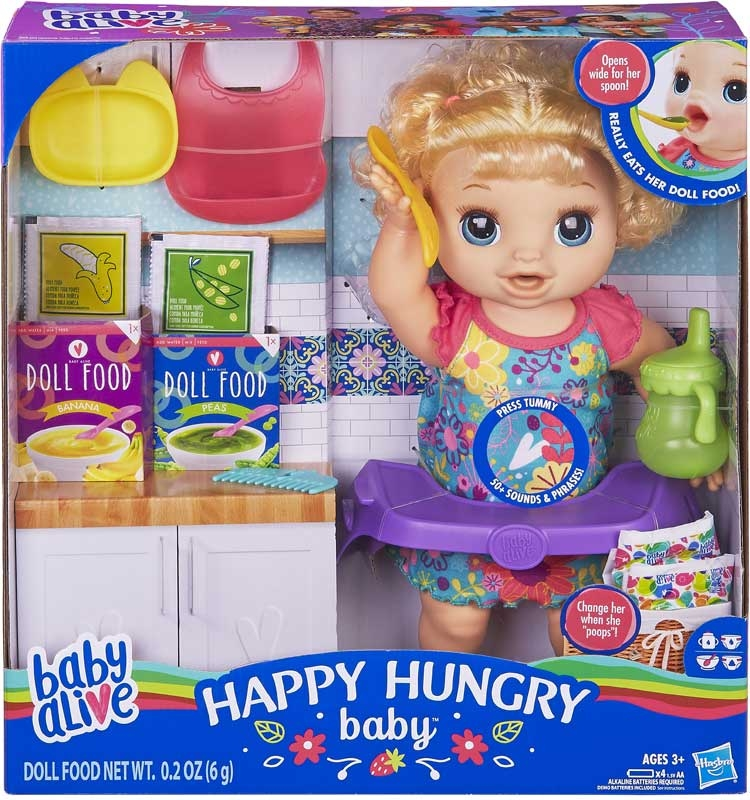 Baby Alive Happy Hungry Baby Blonde Wholesale