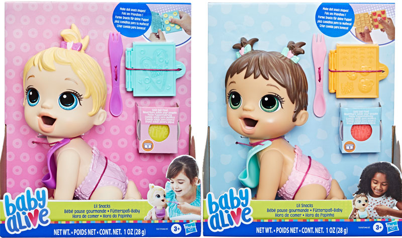 Wholesalers of Baby Alive Lil Snacks Asst toys