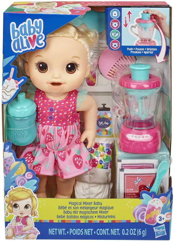 Wholesalers of Baby Alive Magical Mixer Baby Blonde toys