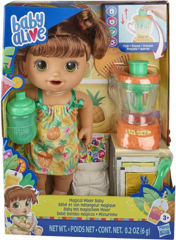 Wholesalers of Baby Alive Magical Mixer Baby Brown toys