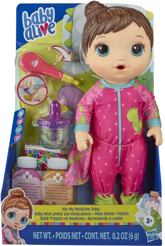 Wholesalers of Baby Alive Mix My Medicine Baby Brown toys