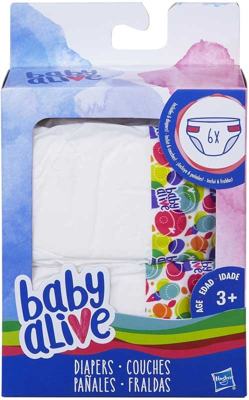 Wholesalers of Baby Alive Nappies Refill toys
