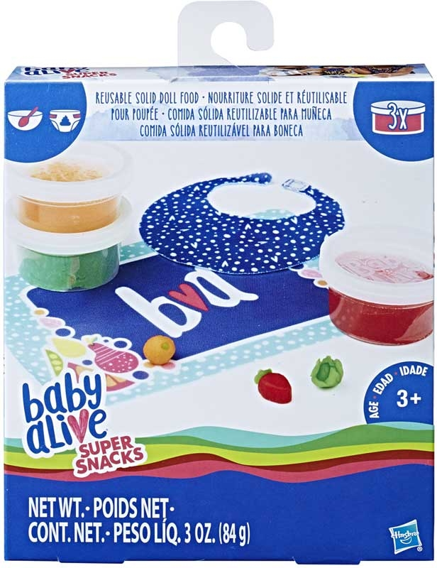 Wholesalers of Baby Alive New Snack Pack Refill toys