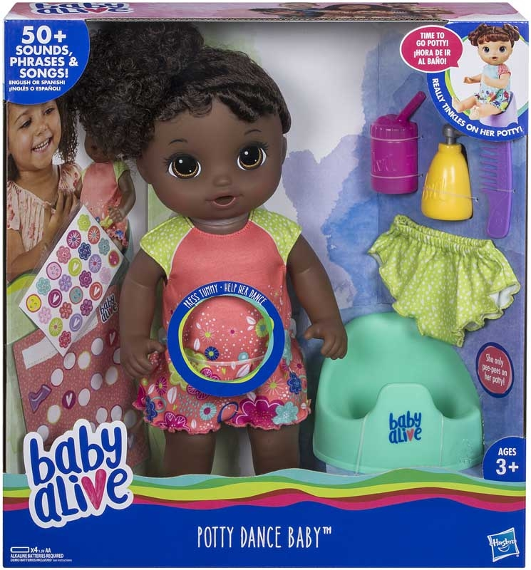 Wholesalers of Baby Alive Potty Dance Baby Aa toys
