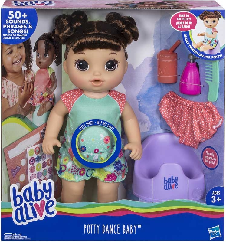 Wholesalers of Baby Alive Potty Dance Baby Br toys
