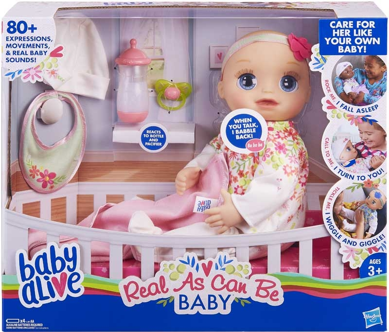 Wholesalers of Baby Alive Real As Can Be Baby Bl toys
