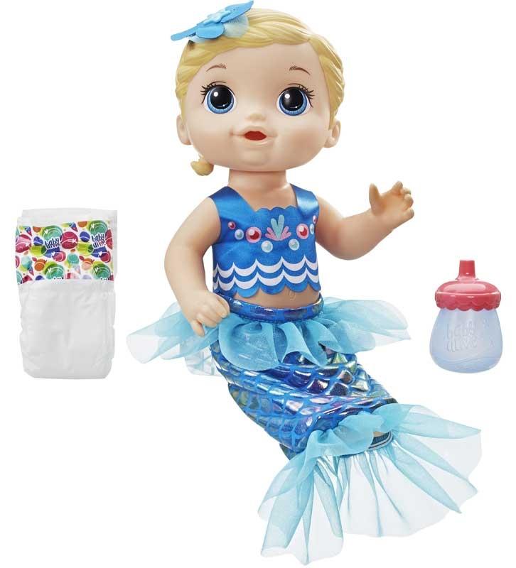 Baby Alive Shimmer N Splash Mermaid Bld Hair Wholesale