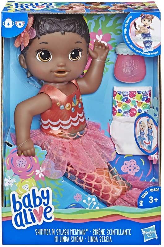 Wholesalers of Baby Alive Shimmer N Splash Mermaid Blk Hair toys