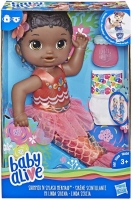 Wholesalers of Baby Alive Shimmer N Splash Mermaid Blk Hair toys image