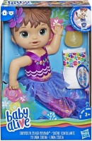 Wholesalers of Baby Alive Shimmer N Splash Mermaid Brn Hair toys image