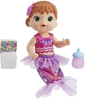 Wholesalers of Baby Alive Shimmer N Splash Mermaid Red Hair toys image 2