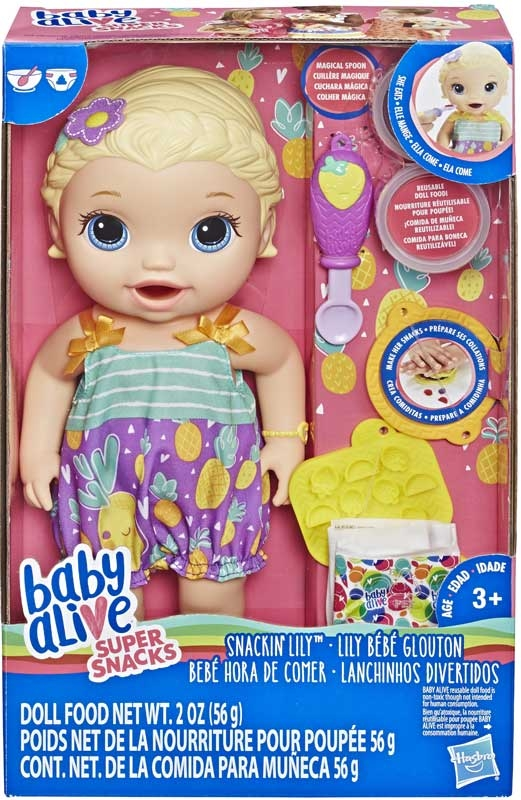 Baby Alive Snackin Lily Bld Hair Wholesale