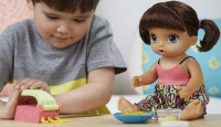 Wholesalers of Baby Alive Snackin Noodles Baby Brunette toys image 3
