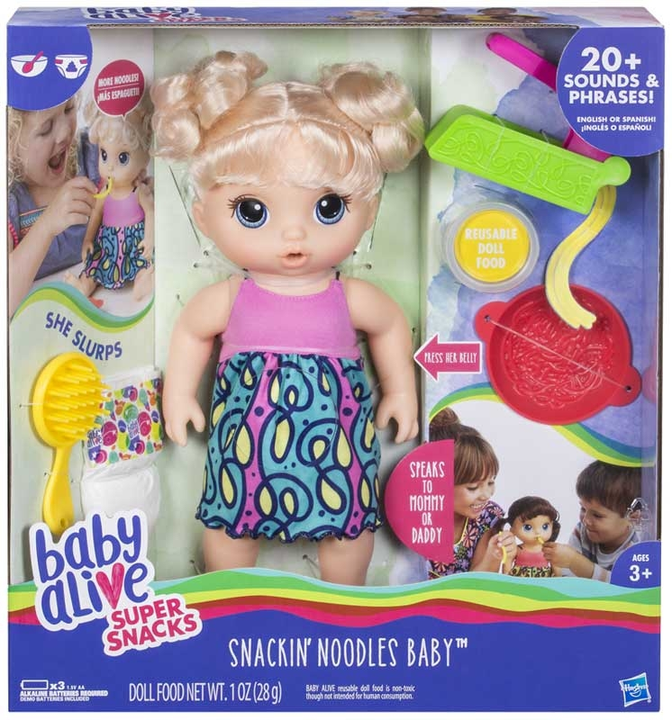 Wholesalers of Baby Alive Snacking Noodles Baby toys