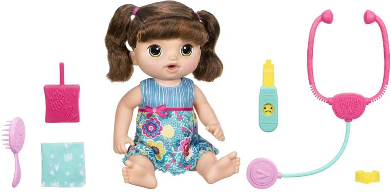Baby Alive Sweet Tears Baby Brunette Wholesale