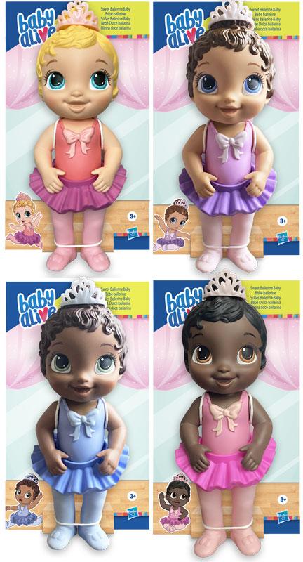 Wholesalers of Baby Alive Sweet Ballerina Baby Asst toys