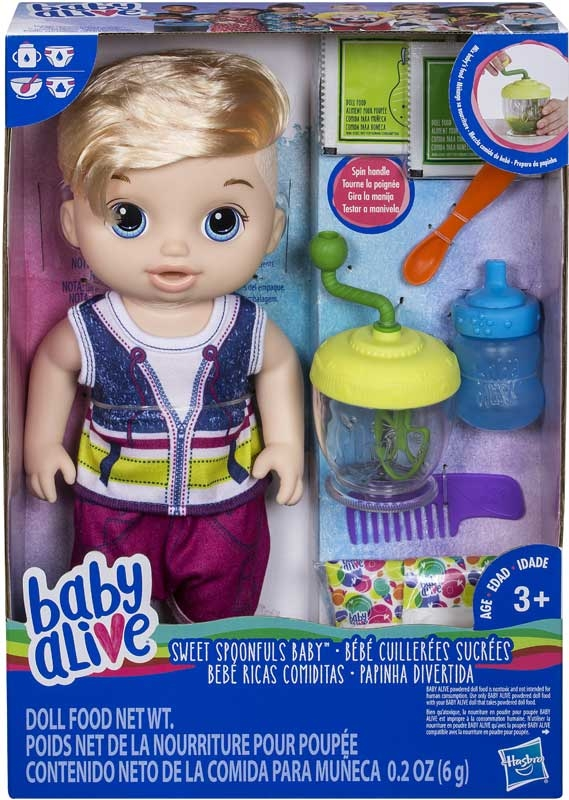 Wholesalers of Baby Alive Sweet Spoonfuls Baby Boy Bl toys