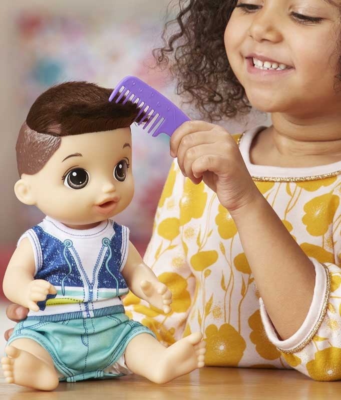 BR Baby Alive Sweet Spoonfuls Baby Doll Boy