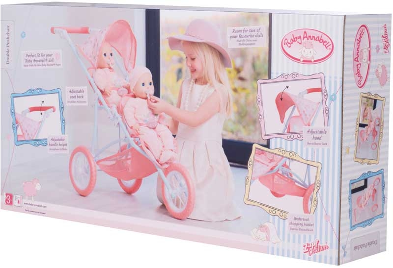 Wholesalers of Baby Annabell Double Pushchair toys