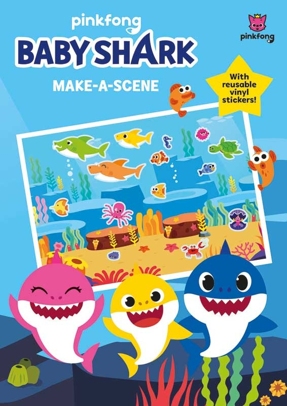 Wholesalers of Baby Shark Make A Scene toys
