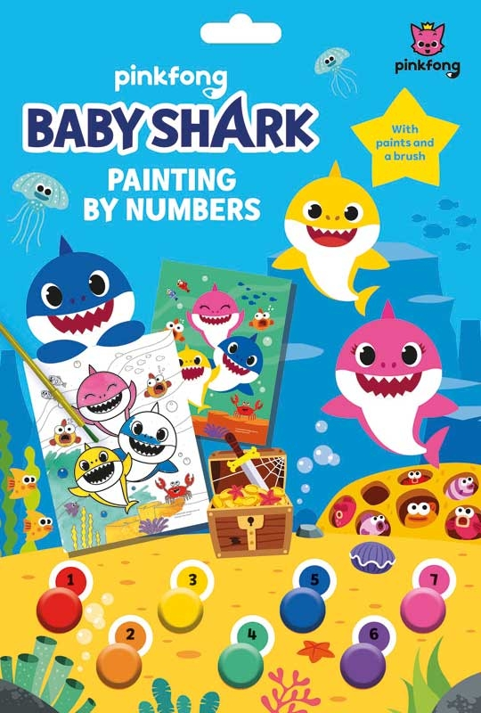 Wholesalers of Baby Shark Painting By Numbers toys