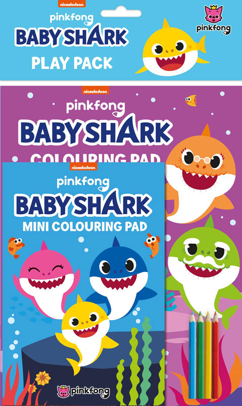 Wholesalers of Baby Shark Play Pack toys
