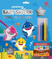 Wholesalers of Baby Shark Surprise Metallic Sticker Set toys image