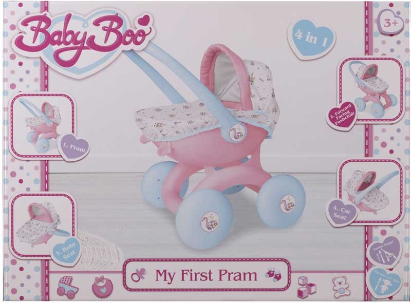 Wholesalers of Babyboo My First Pram 4-in-1 toys
