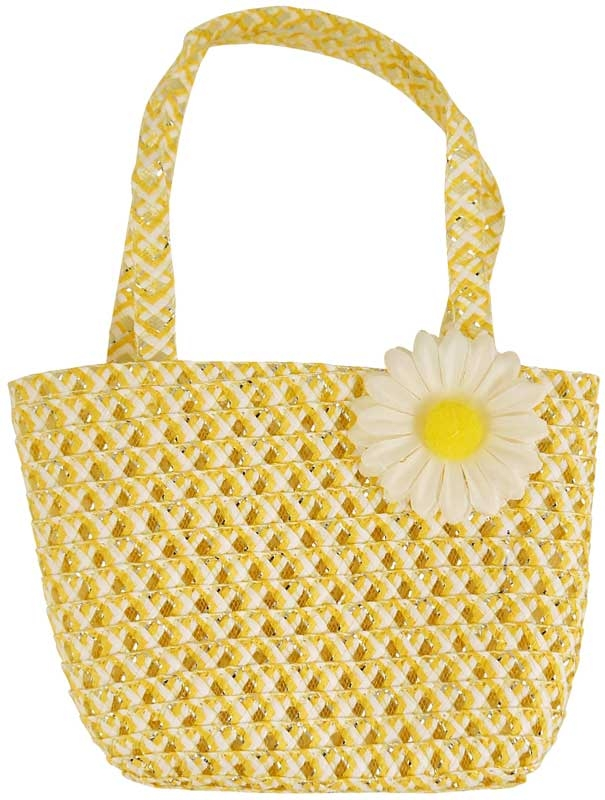 Wholesalers of Bag Easter Yellow With Flower 15 X 22.5cm toys