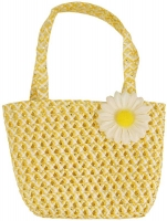 Wholesalers of Bag Easter Yellow With Flower 15 X 22.5cm toys image