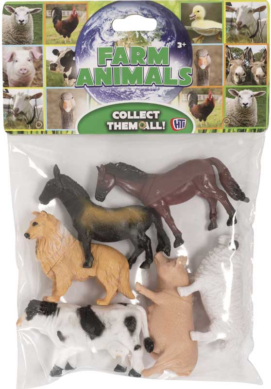 Wholesalers of Bag Of Farm Animals toys