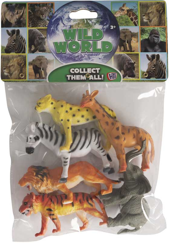 Wholesalers of Bag Of Wild Animals toys